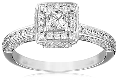 Quality In Loyal Certified 3 Ct Round Cut Diamond Halo Bridal Set Engagement Ring 14k White Gold Superior