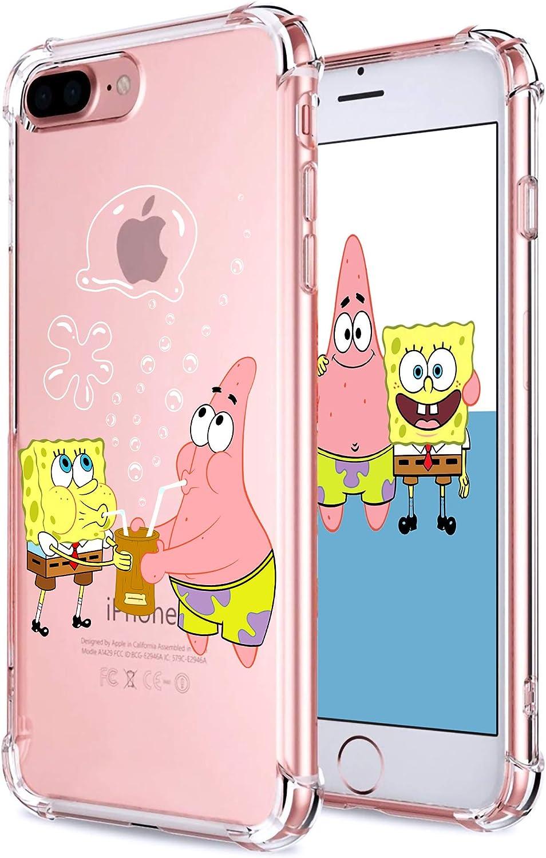 Coralogo for iPhone 7 Plus/ 8 Plus TPU Case, 3D Cute Cartoon Funny Design Character Protective Kawaii Fashion Fun Cool Cover Skin Teens Kids Girls ...