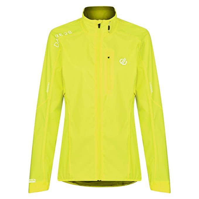 50% off separation shoes dirt cheap Dare 2b Women's Mediant Lightweight Waterproof and Breathable Reflective  Ventilted Led Compatible Cycling Shell Jacket