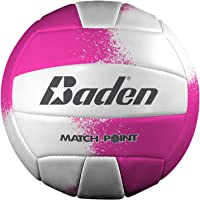 Baden Match Point Volleyball (Official Size), Neon Pink/White