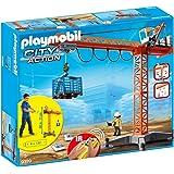 PLAYMOBIL 9399 Großer Baukran mit IR-Fernsteuerung City Action .