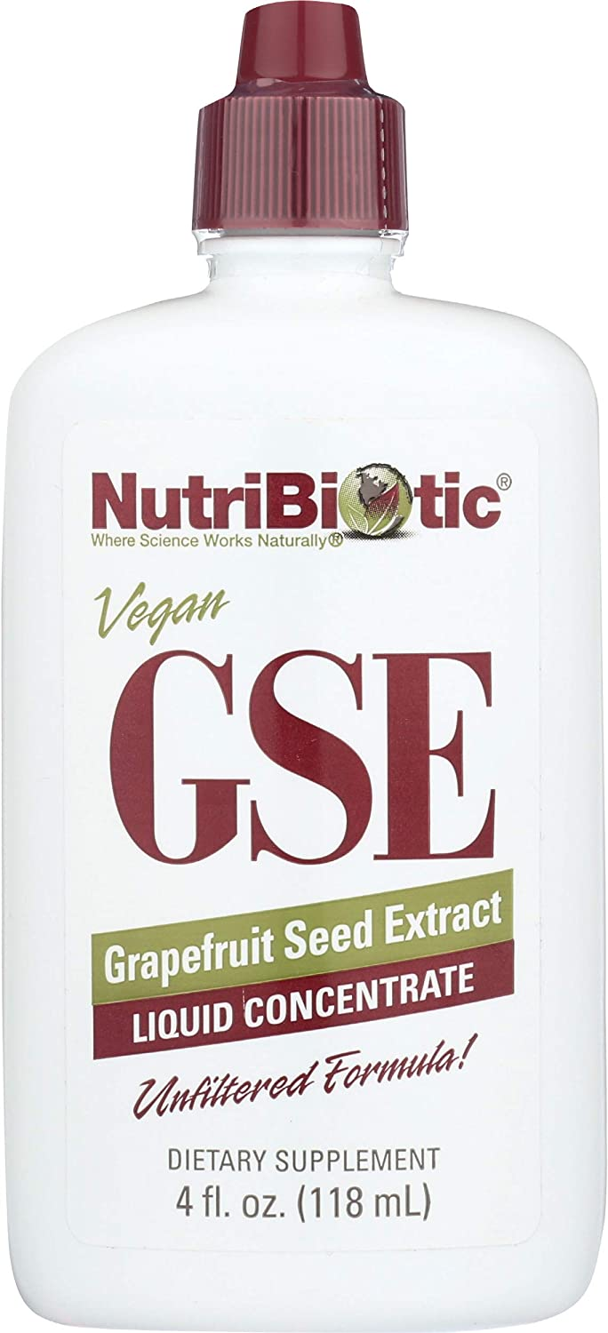 Nutribiotic Gse Liquid Concentrate, 4 Fl Oz (Pack of 1): Health & Personal Care
