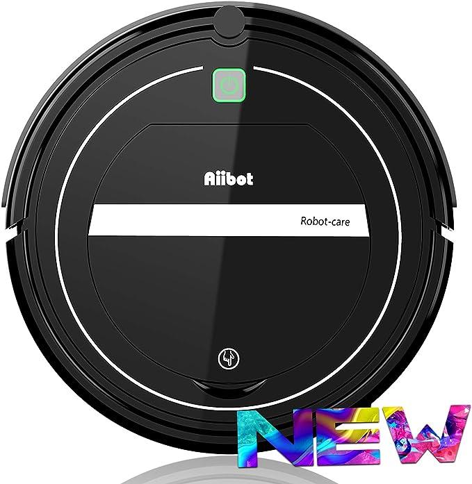 Aiibot Aspirador Robot con Sistema de Limpieza de 3- Etapas ...