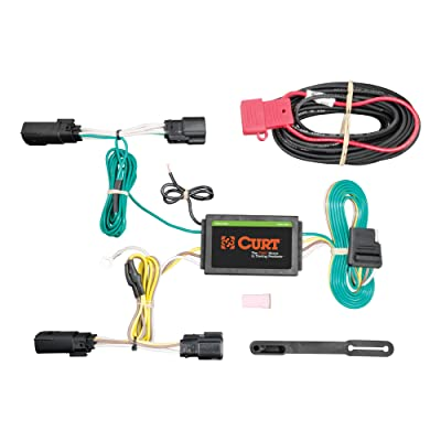 CURT 56258 Vehicle-Side Custom 4-Pin Trailer Wiring Harness for Select Lincoln MKZ: Automotive