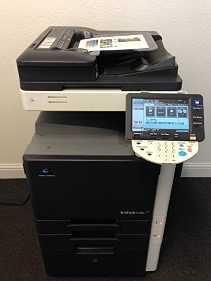 Amazon.com : Konica Minolta Bizhub C360 Copier Printer Scanner Fax