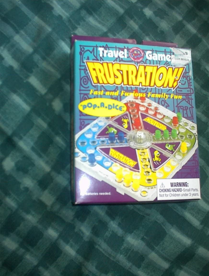 Travel Games Frustration
