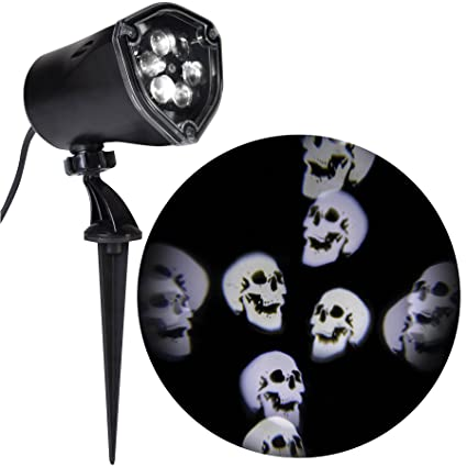 Amazon.com: Gemmy Halloween Proyector de luz,, Whirling ...