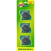 Scotch-Brite Stainless Steel Scrub - Pack of 3