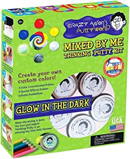 product image for MIXED BY ME - GLOW Kit Crazy Aaron's Thinking Putty Kit CREATE YOUR OWN DIY mix For Ages 8+