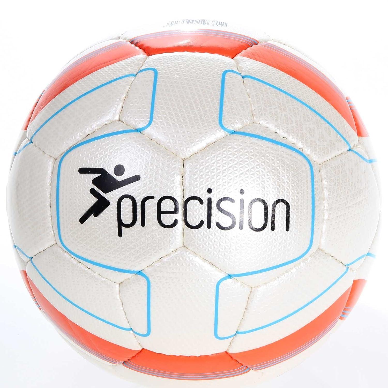 Precision Football Santiago Match Ball FIFA Inspected White/Orange rrp£24