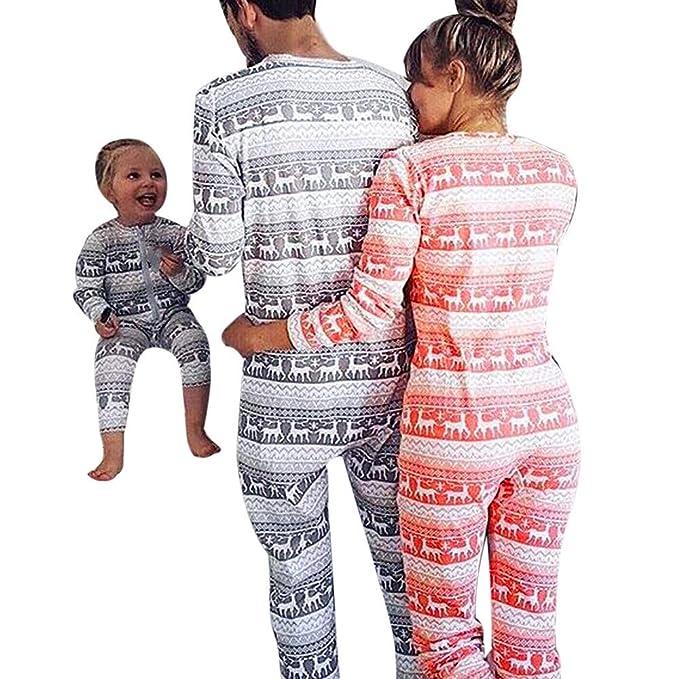 POLP Niño Navidad Mono Ropa niñas Unisex Pijama Bebe Navidad Regalo ...
