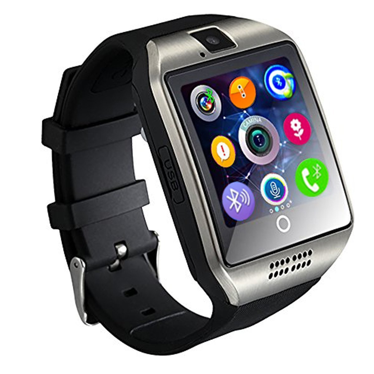 smartwatch black accessories dp phone sm watches sport cell ca phones samsung gear amazon