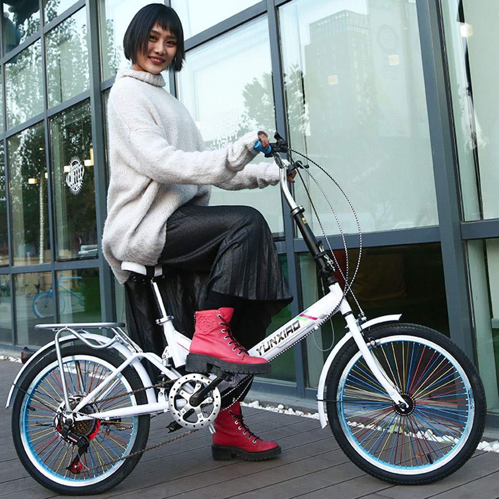 Elípticas Bicicleta Bicicleta Unisex Bicicleta Plegable Ruedas De 20 Pulgadas Ciudad Plegable V2 Bicicleta Plegable Compacta Aleación Ligera Ciudad Plegable (Color : Yellow, Size : 26-Inch): Amazon.es: Hogar