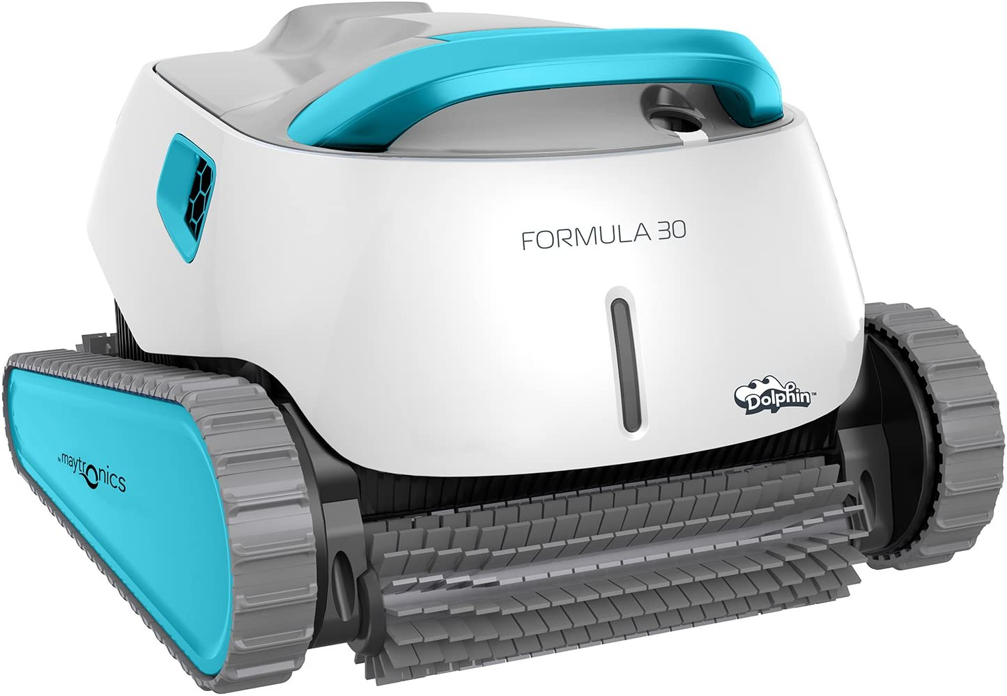 Poolaria Dolphin Formula 30 - Robot limpiafondos para Piscinas (Fondo, Paredes y línea de flotación)
