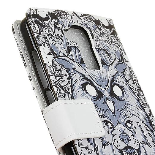 Amazon.com: iPromama Doogee Y6 - Funda con tapa y tarjetero ...