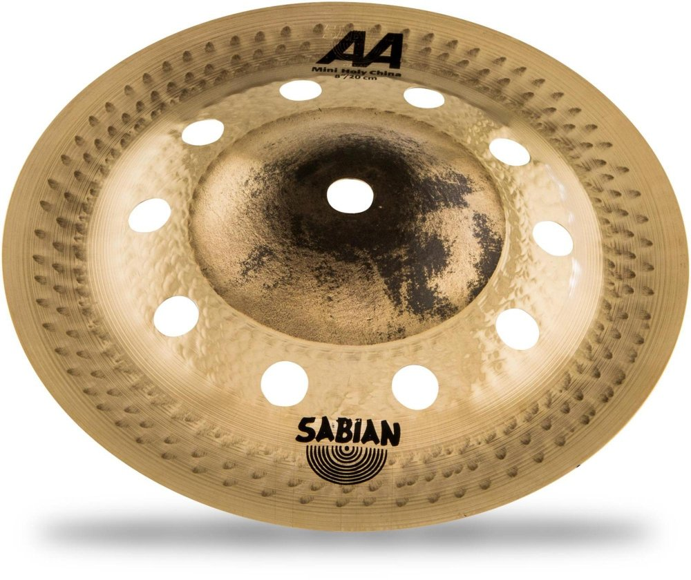 Sabian AA Mini Holy China, Brilliant 8 in. 20816CSB