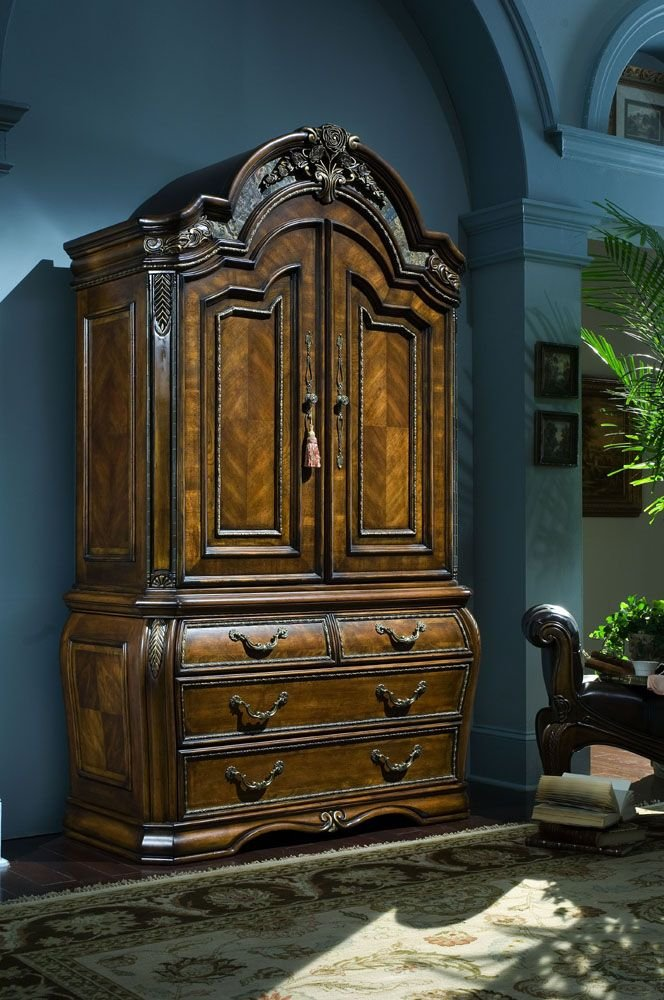 Armoire by AICO - Sienna Spice- 52 (67080)