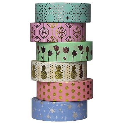 Washi Tape Masking Tape Scrapbook Decorative Paper Adhesive Sticker DIY Crafts