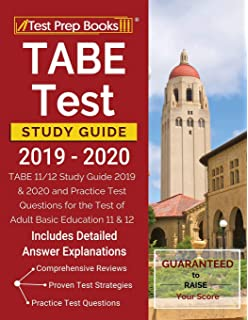 picture relating to Tabe Practice Test Free Printable known as TABE Check Examine Advisor 2018-2019: Check Assessment Reserve and