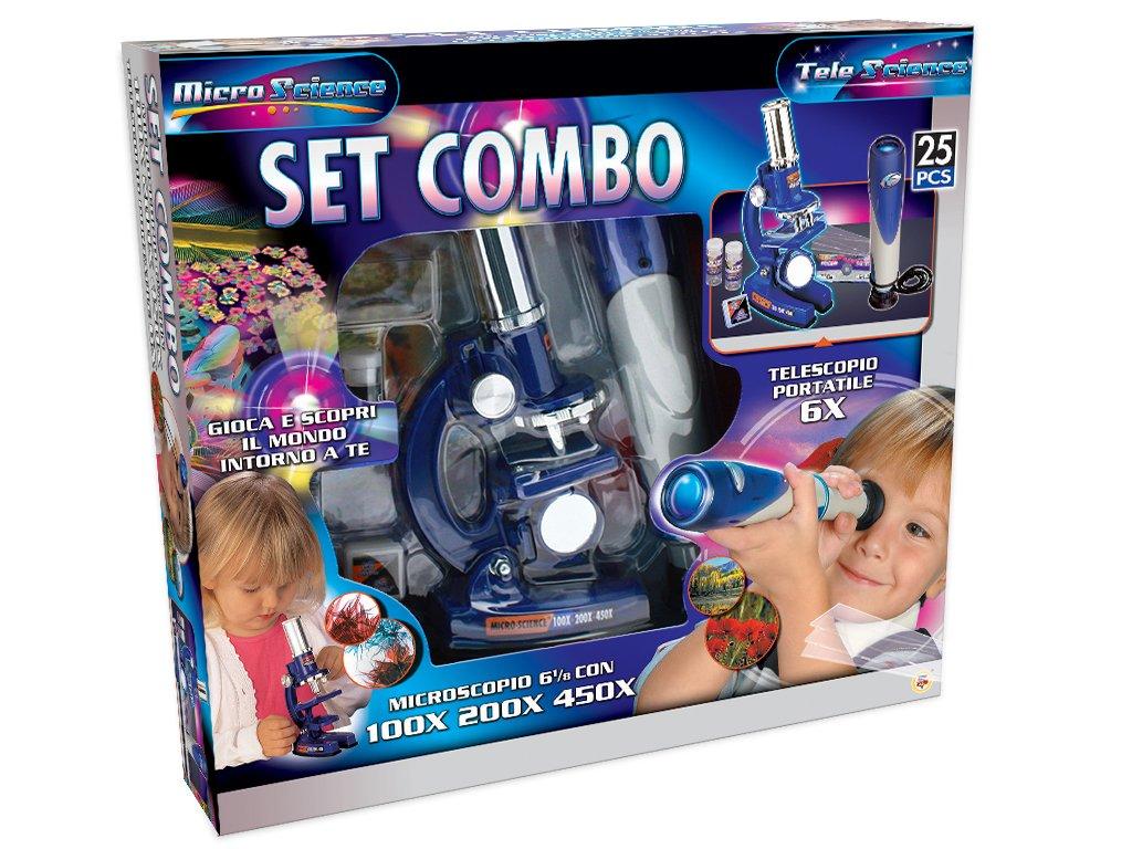 Kinder mädchen im klassenzimmer mit mikroskop im
