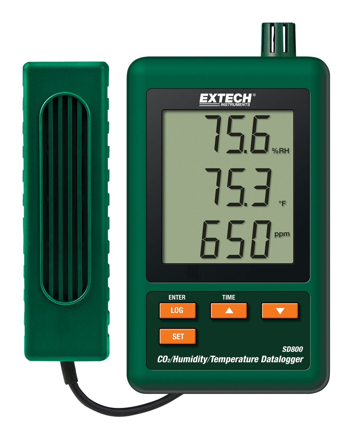 Extech SD800 CO2 Humidity and Temperature Datalogger