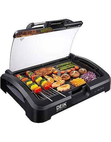 Plancha Barbecue Électrique de Table 2200W, Plancha Électrique Grill  Viandes Grill Multifonction Intérieur Extérieur Cuisine 738bf86e2ef8
