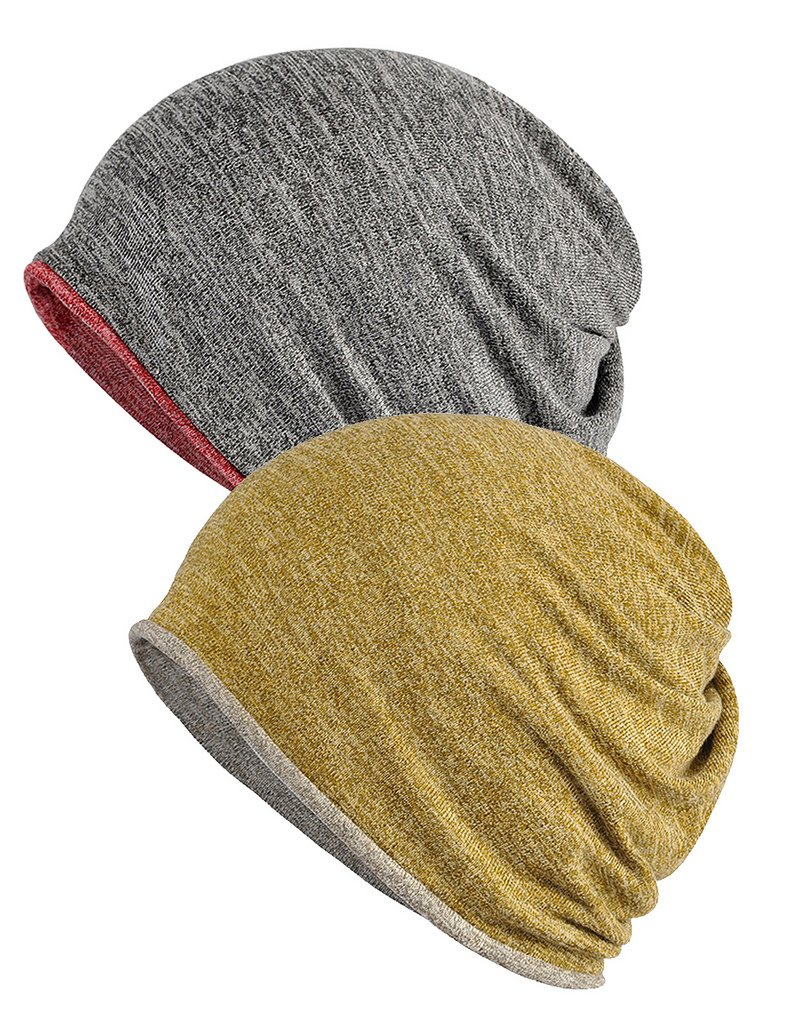 I VVEEL Women's Baggy Slouchy Beanie Chemo Hat Cap Infinity Scarf