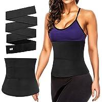 MoKo Waistband Slimming Body Shaper Belt, Three/Four Metres Long Adjustable Fitness Bandage Wrap Lumbar Waist Support…