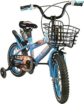 Zerimar Bicicletas Infantiles para niños y niñas | Bici con ruedines y Cesta | Bici niño | Bicicleta niños 16,18 y 20 Pulgadas | Bicicletas niños 3-8 años: Amazon.es: Deportes y aire libre