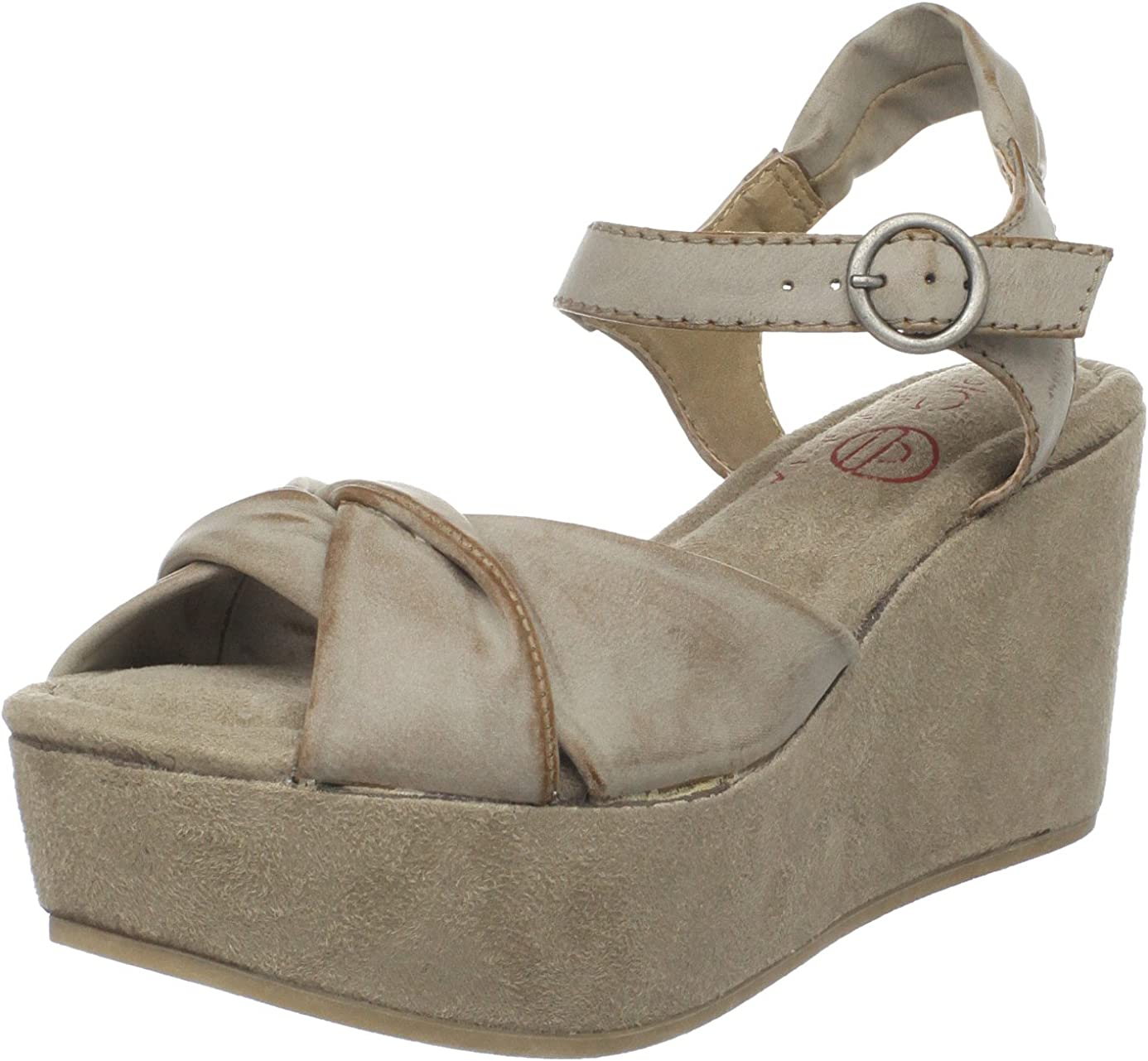 Big Buddha Women's Zig Platform Sandal