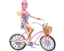 Barbie Boneca e Bicicleta Mattel