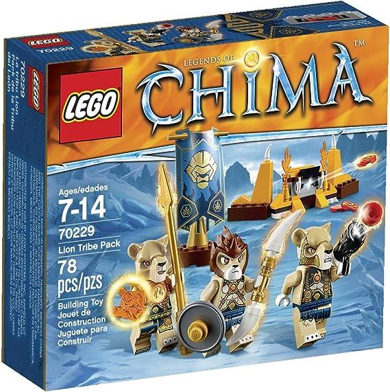 LEGO® Figur Minifig Lion Warrior #LOC117 Legend of Chima Set 70229