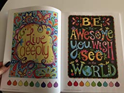 Amazon.com: Good Vibes Coloring Book (Coloring is Fun