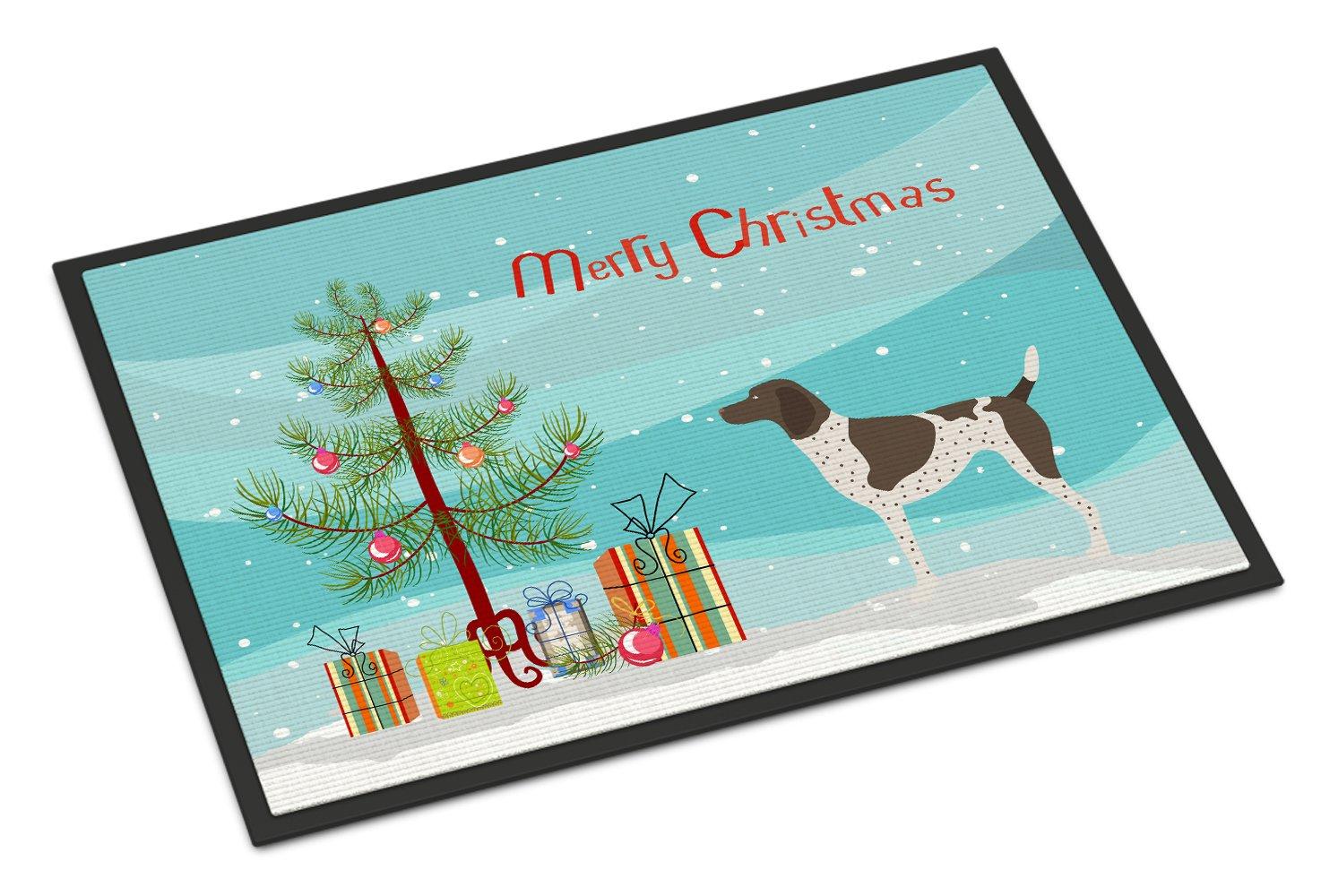 Carolines Treasures Cane Corso Christmas Doormat 18hx27w Multicolor