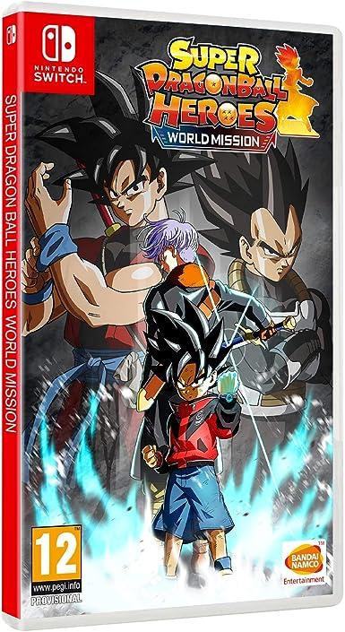 Super Dragon Ball Heroes Wor Ld Mission: Amazon.es: Videojuegos