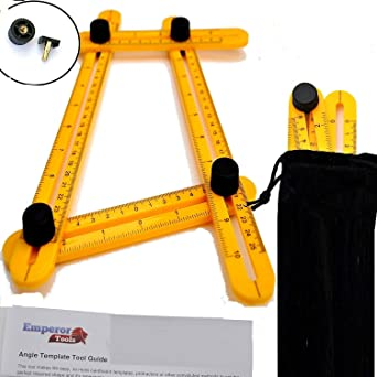 angleizer angle template tool with user guide bag updated screws