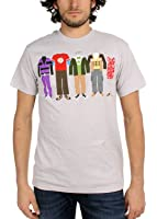 Big Bang Theory - Mens Group Clothing T-shirt in Gray