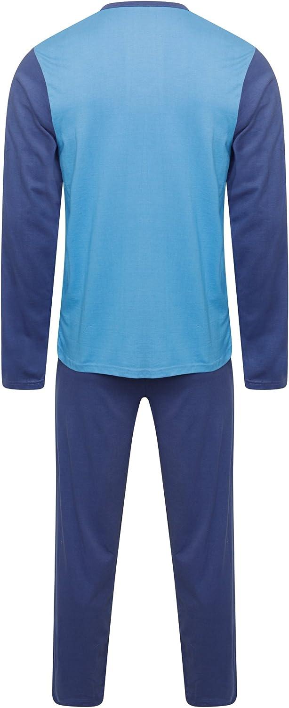 Pigiameria uomo PJ Pajama Set Due Pezzi Pigiama Notte Usura 100/% Cotone