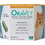 OraVet Dental Hygiene Chews Up To 10 lbs 30 ct