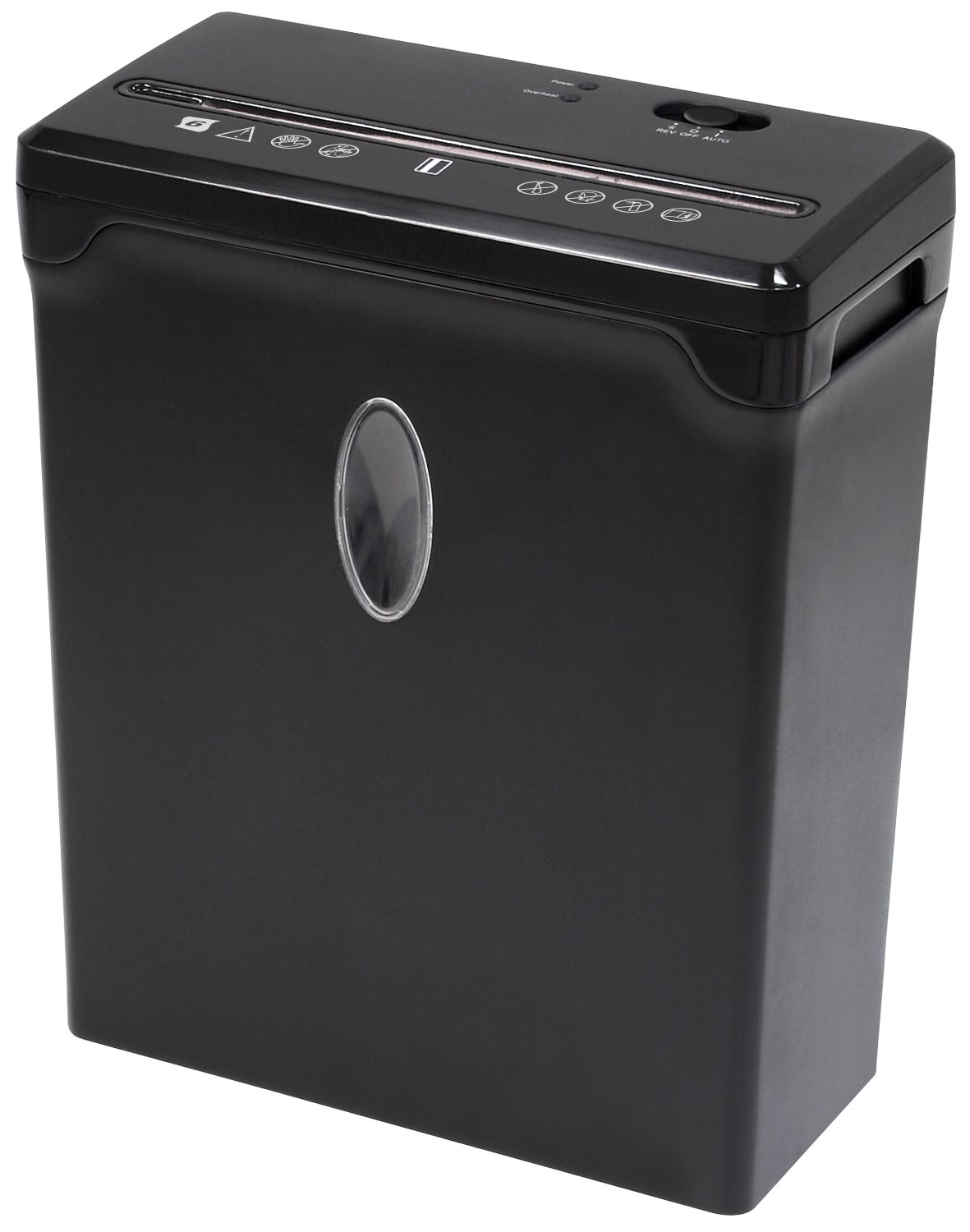 Sentinel FX61B 6-Sheet High Security Cross-Cut Paper/Credit Card Shredder with 2.4 Gallon Waste Basket Shredder Shredder by Sentinel Shredders