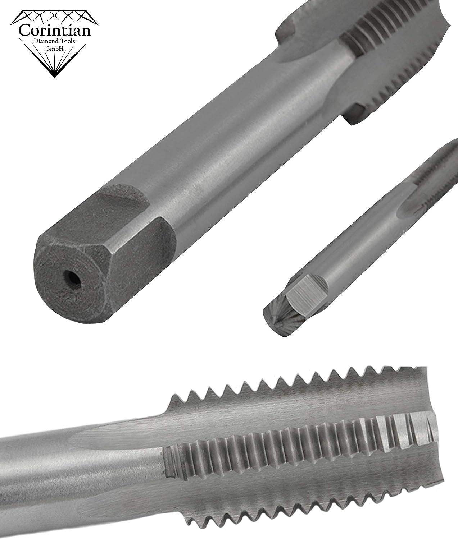 Gr/ö/ße Optional SDENSHI HSS-Gewindebohrer Edelstahl Handgewindebohrer Spiralbohrer Gewindeschneider M2