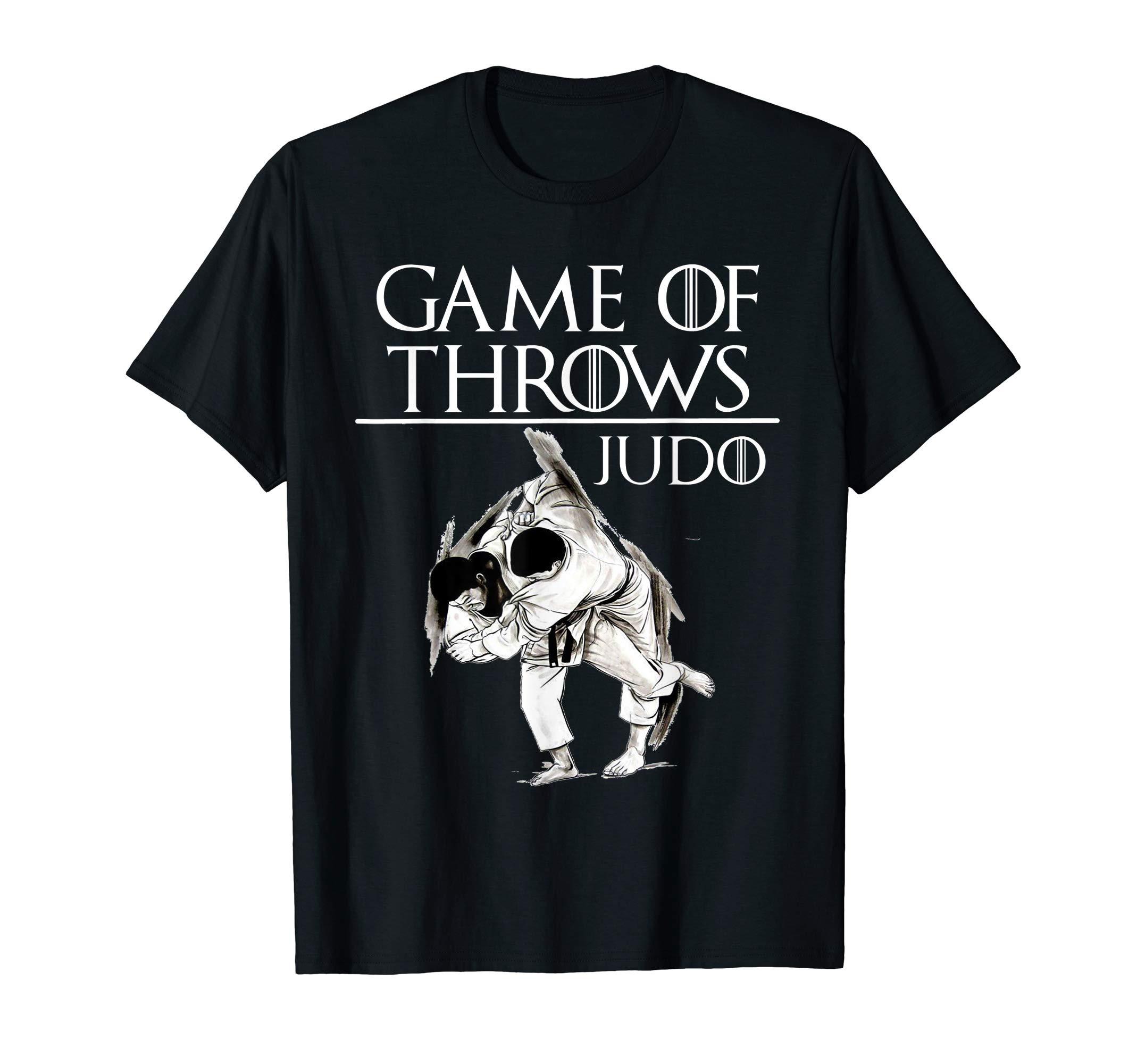 Game of Throws Judo T-Shirt Tee  BJJ