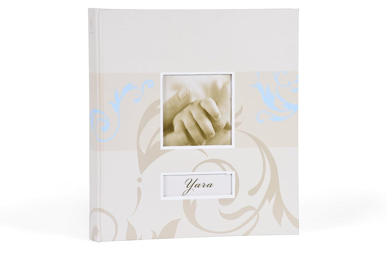Henzo 2003212 Babyalbum Yara Fotoalbum, Andere, rosa, 30.5 x 28 x 4 cm