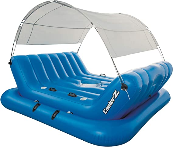 Bestway 43134 - Isla Hinchable Coolerz Rock-N-Shade 4 Personas ...