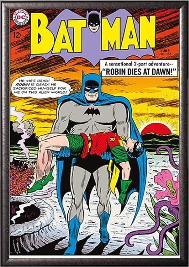 Amazon com: Batman Comic Book - Robin Dies At Dawn 24x36