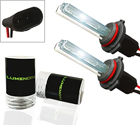 D2 D2S D2R D2C, 6000k Diamond White Lumenon HID Xenon Conversion Headlight Replacement Bulbs 1 pair