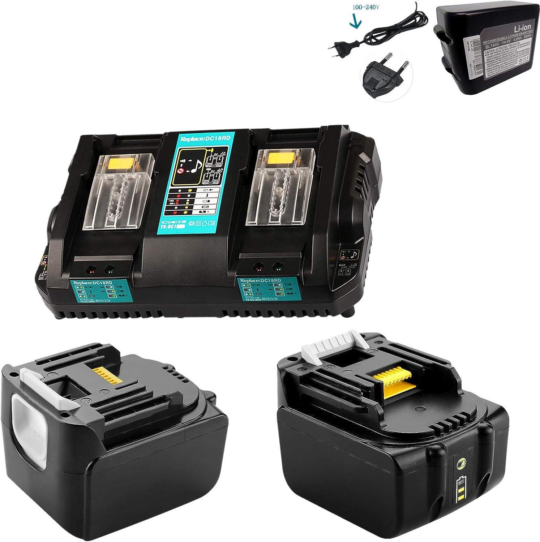 LiIon Chargeur De Batterie Station Pour Makita 14,4 V bdf441 bdf442 bdf444 bdf446