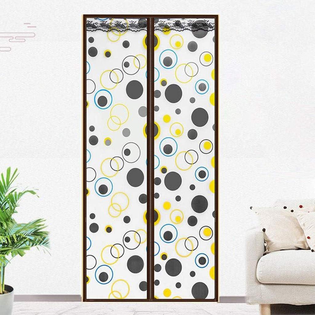 Mosquitera puerta, Puerta térmica magnética cortina aislada, disfrutar de su verano fresco y caliente del invierno, la cortina de puerta automática más cerca (Size : 90 * 210cm): Amazon.es: Bricolaje y herramientas
