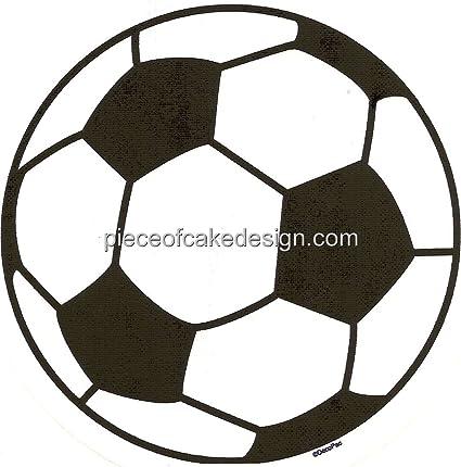 Balón de fútbol Cumpleaños ~ Comestible imagen Pastel ...