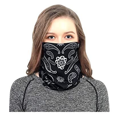 WEISUN Multi-Use Unisex Outdoor Headband Scarf Neck Windproof Face Cover Sun Protection Bandana: Clothing